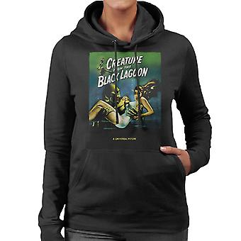 The Creature From The Black Lagoon Carrying Kay Women's Hooded Sweatshirt