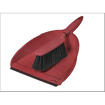 Greener Cleaner Greener Cleaner Dustpan & Brush Red GCB008RED