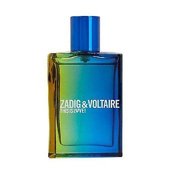 Zadig & Voltaire This Is Love! For Him Eau de toilette spray 30 ml