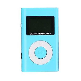 Mini USB MP3 Music Media Player LCD displej podpora 32GB Micro SD TF slot pre karty