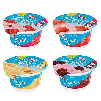Muller Light Mixed Case Yogurts