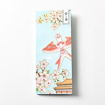 Post It Sticky Notes Set, Kawaii Memo Pads, Retro Note Book  Journal Planners