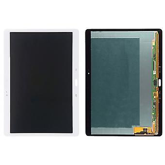 Galaxy Tab S 10.5 / T805 LCD-näyttö ja Digitointiohjelma Full Assembly (valkoinen)