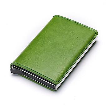 mini kort lommebok mann-kvinner smart lommebok visittkortholder