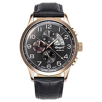 Ingersoll IN1514RBK Duwamish automatic men's watch 46mm