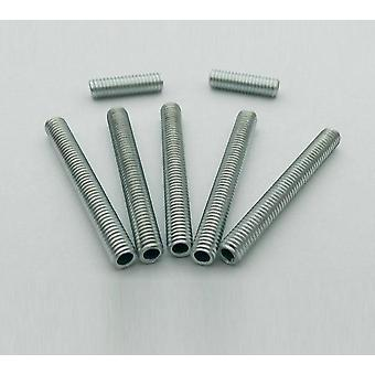 Metric M6 Whole Threaded Hollow Tube