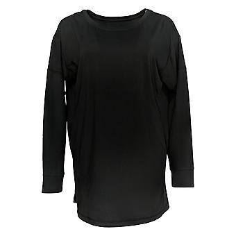 Carole Hochman Women's Top Feather Soft Jersey Black A381870