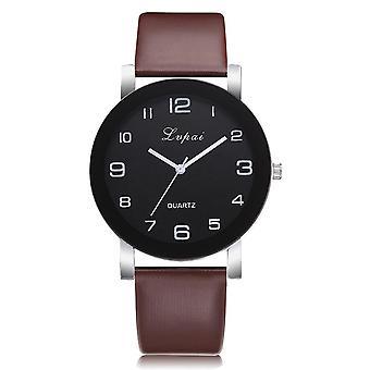 Frauen Quarzuhr, Lederband Frauen Armband Uhren Kristall uhr