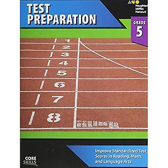 Steck-Vaughn Kjerne ferdigheter Test Forberedelse: Arbeidsbok Grade 5