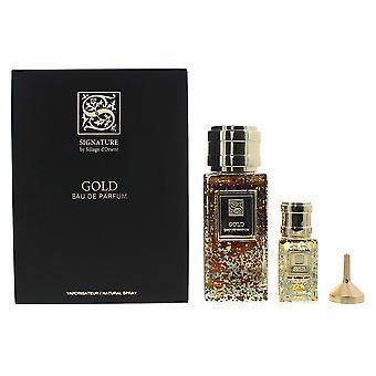 Signature Sillage D'Orient Gold Eau de Parfum 100ml & EDP 15ml Gift Set