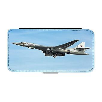 Tu-160 Tung Strategisk Bombplan iPhone 12 Mini Plånboksfodral