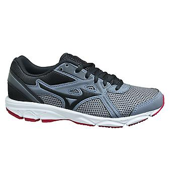 Mizuno Spark 5 Grey Pink Low Lace Up Womens Running Trainers K1GA200405