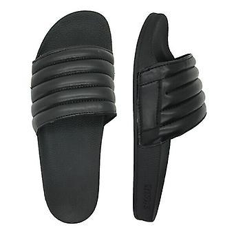 Slydes Port Womens Slip On Sliders Open Toe Flip Flops Slide Black S0421S106 Z3A