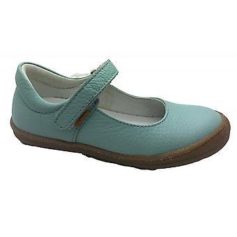 PRIMIGI Metallic Leather Mary Jane Shoe Turquoise