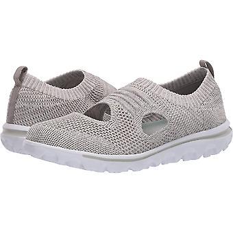 Propét Women's TravelActiv Avid Sneaker, Light Grey,7 XX-Wide