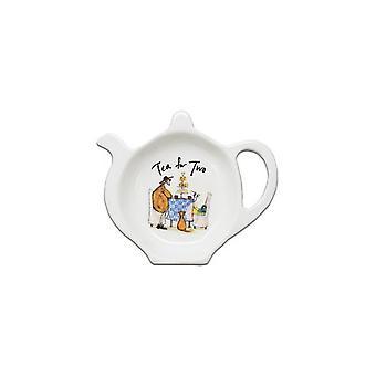 Sam Toft Tea for Two Tea Bag Tidy