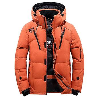 Winter Warm Overcoat Jacket - Down Hooded