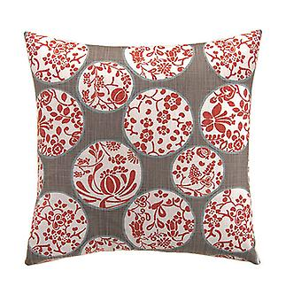 """Imperial Decorative Square Pillow 18"""" X 18"""", Lather"""