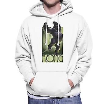 King Kong Balancing Men's Hooded Sweatshirt
