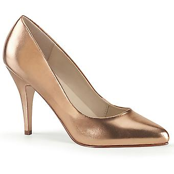 Pleaser Damen's Schuhe VANITY-420 Rose Gold Metallic Pu
