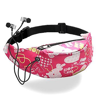 Colorful Waist Bag Waterproof Travelling Fanny Pack Mobile Phone Waist Pack