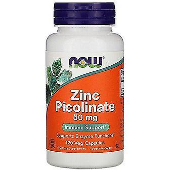 Now Foods, Zinc Picolinate, 50 mg, 120 Veg Capsules