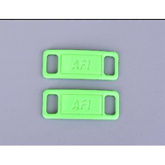 Af1- Shoelace Buckle, Metal Lace, Lock Sneaker Kits Accessories