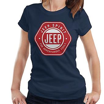Jeep Spirit For Adventurous Souls Women's T-Shirt