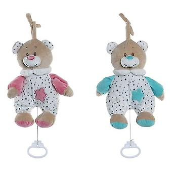 Teddy Bear Dekodonia Musical For hanging (20 x 9 x 25 cm) (2 pcs)
