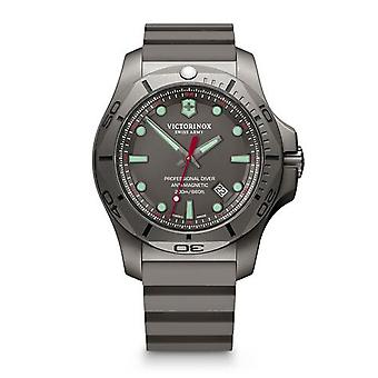 Victorinox Swiss Army 241810 I.n.o.x. Professional Diver Grey Titanium Men's Watch
