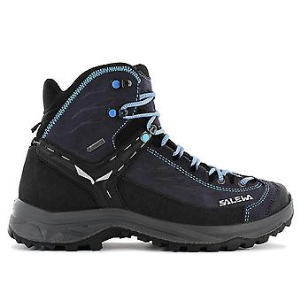 Salewa WS Hike Trainer MID GTX - Gore Tex - Women's Hiking Boots Trekking Boots Black 61342-2242 Sneakers Sports Shoes