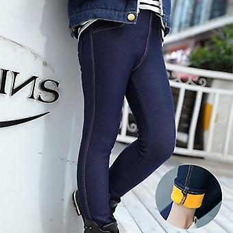 Тонкие толстые бархатные теплые джинсовые брюки
