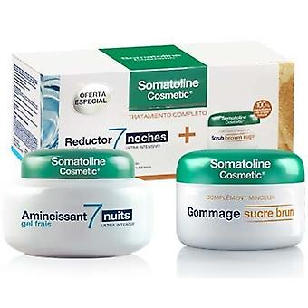 Somatoline Cosmetic Pack 2 pieces Gel 7 Nights + Exfoliating Brown sugar