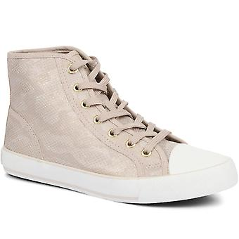 S Oliver Womens Lace-Up High-Top Trainers