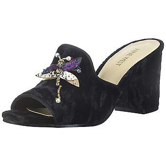 Neuf Womens Ouest Glasslipr Open Toe occasionnels Slide Sandals