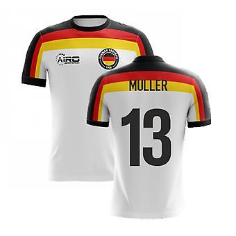 2020-2021 Németország Home Concept Futball mez (Müller 13) - Gyerekek