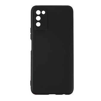 H-grund telefonfall för Samsung Galaxy A90 5G silikonväska - i svart - telefonväska av flexibel TPU silikon