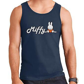 Miffy sitter på logotypen män & väst