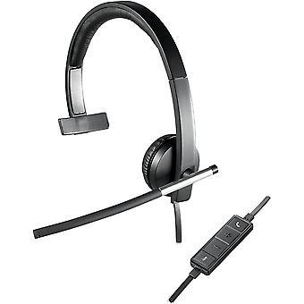 FengChun H650e Kopfhrer mit Mikrofon, Mono-Headset, Rauschunterdrckung, Lautstrkeregelung und