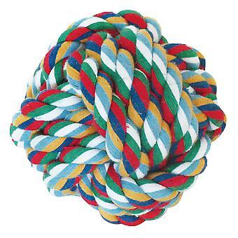 Arquivet solmu pallo (6 Cm) (koirat, lelut & Sport, pallot, köydet)