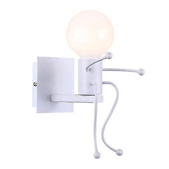 Humanoid Creative LED Wewnętrzna lampa ścienna (biały)