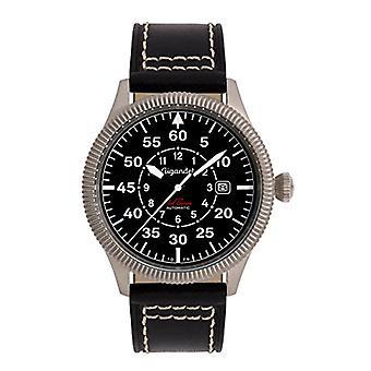 Gigandet G8-005 - Men's watch, black leather strap