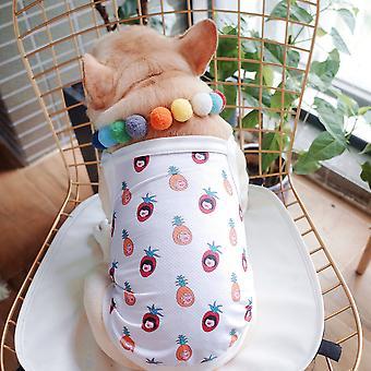 Summer pet clothes mesh breathable vest