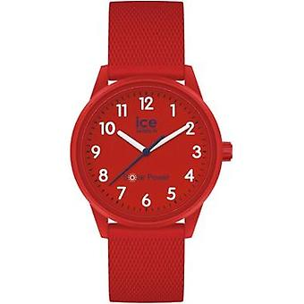 Ice Watch - ICE solar power - Red navy - Numbers - Small - 3H - 018481