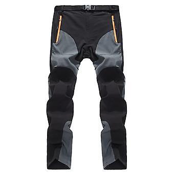 Summer fishing pants men breathable stretch waterproof softshell hiking pants outdoors thin trekking pants men sports trousers