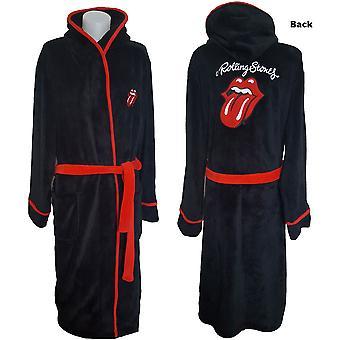 Die Rolling Stones - Klassische Zunge Unisex Bademantel - Schwarz