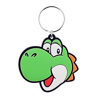 Super Mario PVC Keyring Yoshi