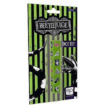 Beetlejuice Dice Set