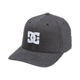 DC Shoes Men's Flexfit Cap ~ Capstar dk grey