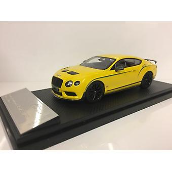 Almost Real 430404 Bentley Continental GT3-R 2015 Monaco Yellow 1:43 Scale